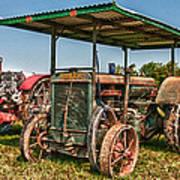 Huber Tractor Art Print