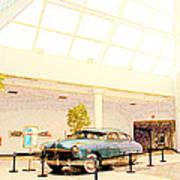 Hudson Car Under Skylight Art Print