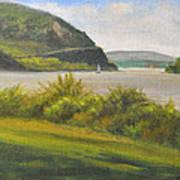 Hudson River At Cold Spring Art Print