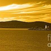 Hudson River Lighthouse Art Print
