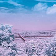 Hudson Valley Landscape Art Print