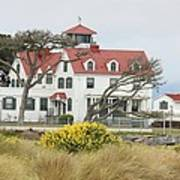 Humboldt Bay Coast Guard Station Art Print