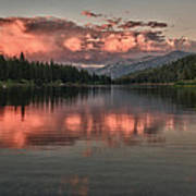 Hume Lake Sunset Art Print