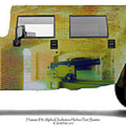 Hummer H1 Alpha Fort Sumter Interior Art Print