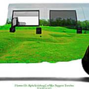 Hummer H1 Alpha Vicksburg Sappers Trench Art Print