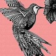 Hummingbird Flight 18 Art Print