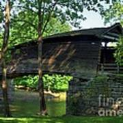 Humpback Covered Bridge 2 Art Print