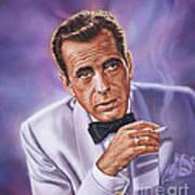 Humphrey Bogart Art Print
