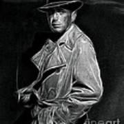 Humphrey Bogart - Pencil Art Print
