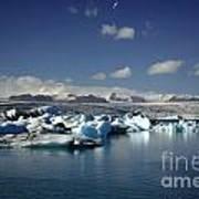 Hundreds Of Icebergs Art Print