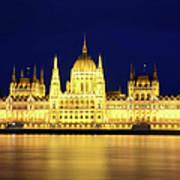 Hungarian Parliament Building, Budapest Art Print