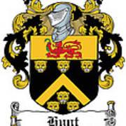Hunt Coat Of Arms Cork Ireland Art Print