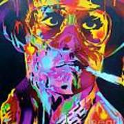 Hunter S Thompson Art Print