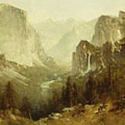 Hunting In Yosemite Art Print