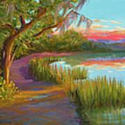 Hunting Island Sunset Art Print