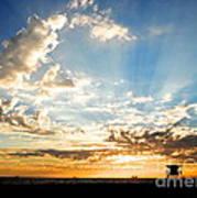Hallelujah  Sunset Art Print