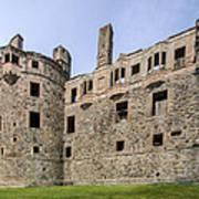 Huntly Castle - 3 Art Print