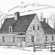 Hurley Stone House Art Print