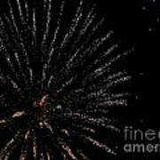Huron Ohio Fireworks 14 Art Print by Jackie Bodnar