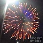 Huron Ohio Fireworks 5 Art Print by Jackie Bodnar