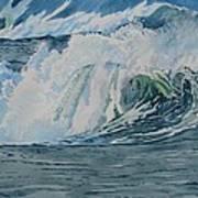 Hurricane Ike Art Print