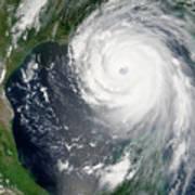 Hurricane Katrina Art Print