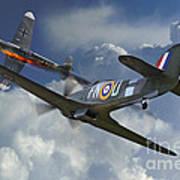 Hurricane Victory Art Print