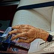 Hurst Shifter And Hand Brake Art Print
