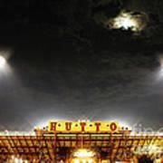 Hutto Hippo Stadium Art Print