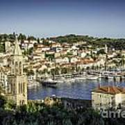 Hvar Overlook Art Print