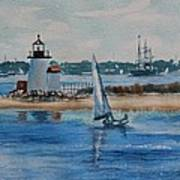 Hyannis Harbor Art Print