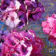 Hydrangea Mix Art Print