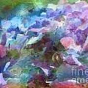 Hydrangea Photoart II Art Print