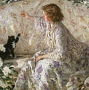 Hydrangeas, 1901 Art Print