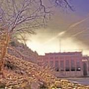 Hydro Electric Dam  N Art Print
