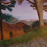 I 64 Overlook In Virginia Art Print