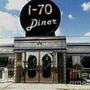I-70 Diner In Fresco Art Print