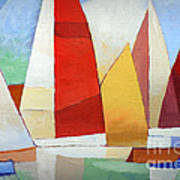 I Am Sailing Print by Lutz Baar