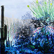 I Am.. The Arizona Dreams Of A Snow Covered Christmas, Regardless Of Our Interpretation Of- Winter 1 Art Print