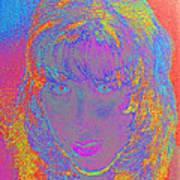 I Am Woman Art Print by Elizabeth S Zulauf
