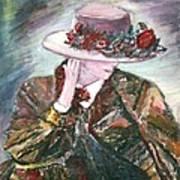 I Borrowed My Mother's Hat Art Print