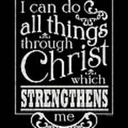 I Can Do All Things Through Christ Painting By Patti Bishop