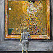 I Dream Of Klimt Art Print