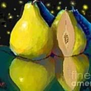 I Dream Of Pears Art Print