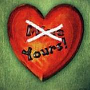 I Gave You My Heart Art Print
