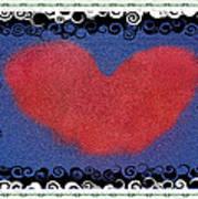 I Give You My Heart Art Print