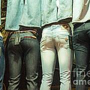 I Got Jeans But I Ain't Got No Body Art Print