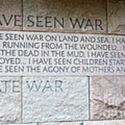 I Hate War Art Print