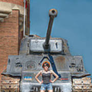 I Have A Tank.  Your Argument Is Invalid Art Print