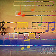 I Have Music In My Heart Art Print